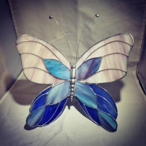 Jumbo Butterfly by DAB Stained Glass
