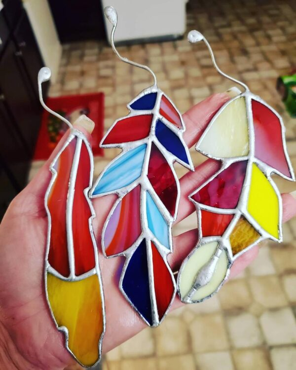 Feathers Multi Colored